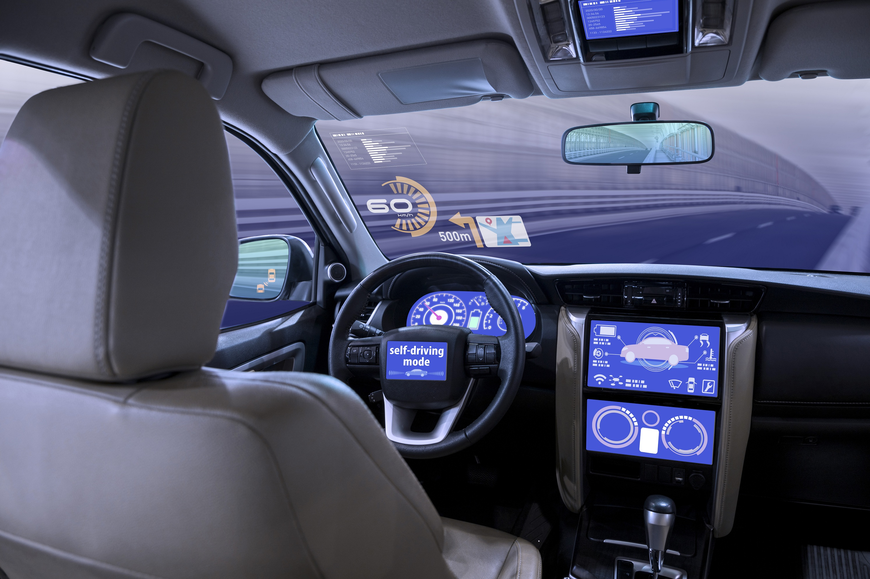car latest interior