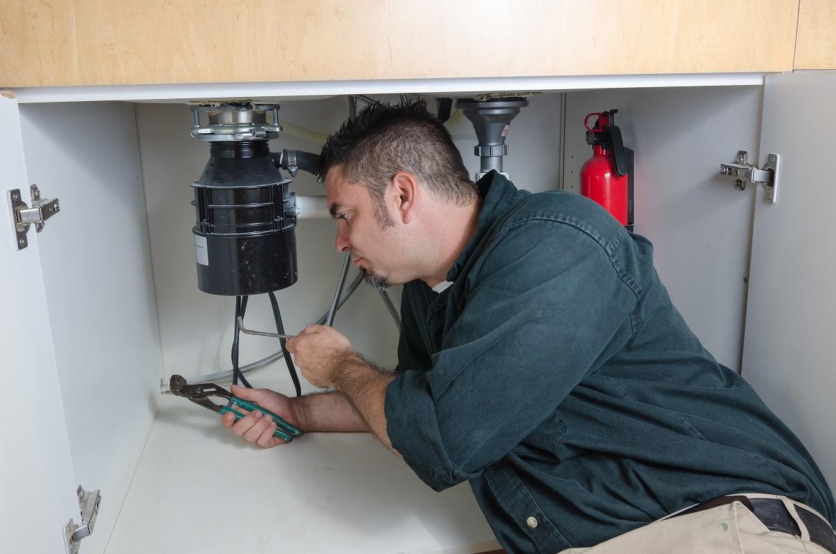 plumber checking leaks